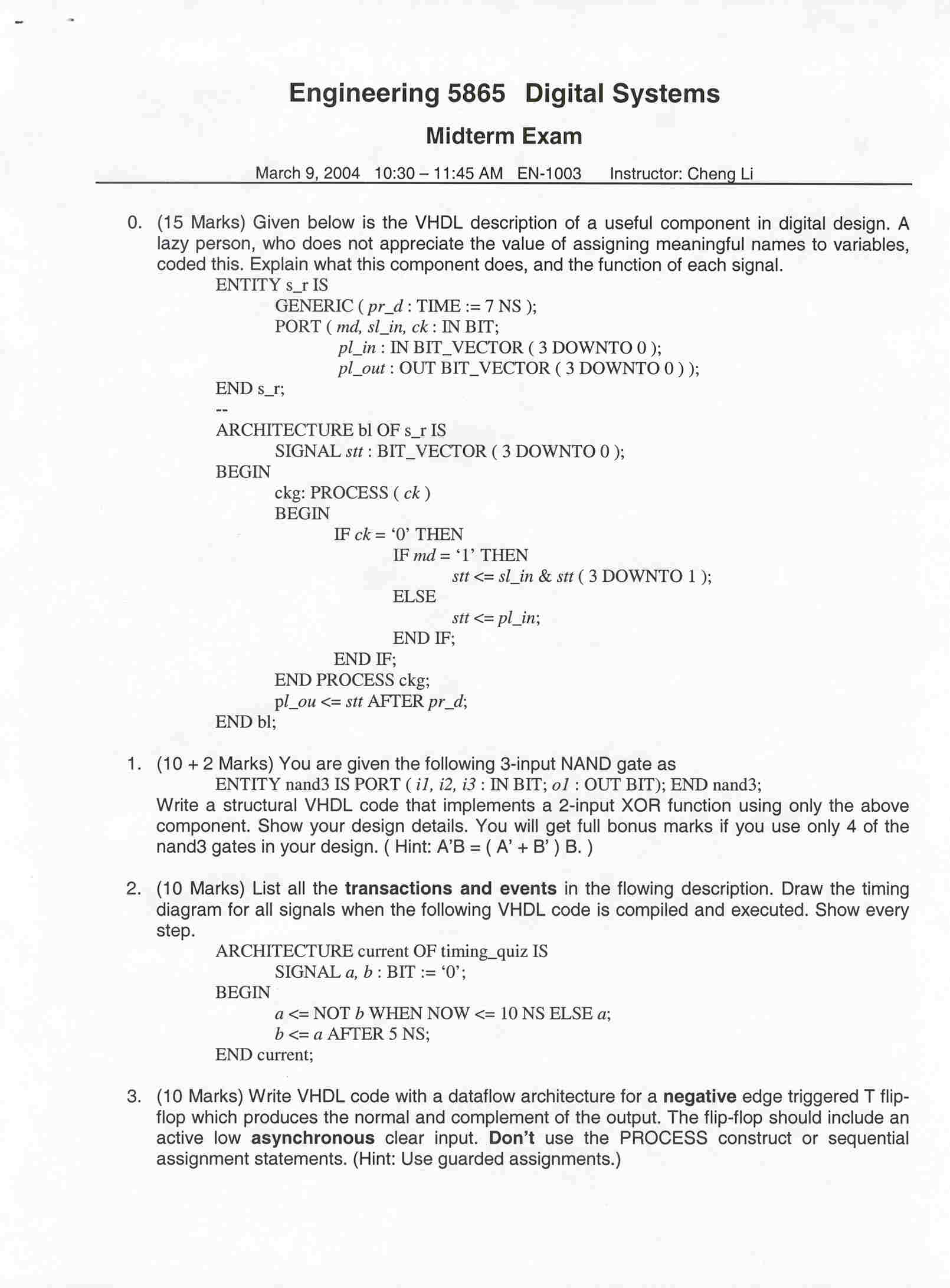 compiler design problems and solutions pdf